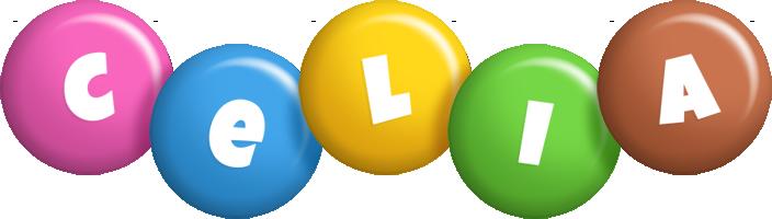 Celia candy logo