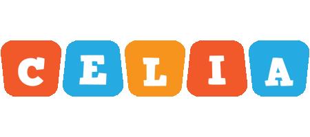 Celia comics logo