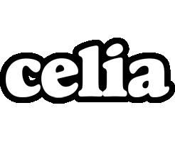 Celia panda logo