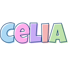 Celia pastel logo