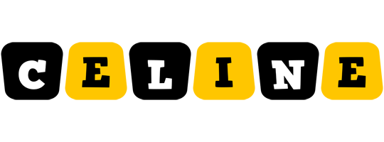 Celine boots logo