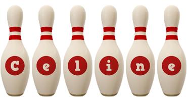 Celine bowling-pin logo