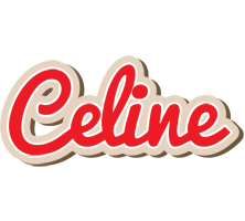 Celine chocolate logo