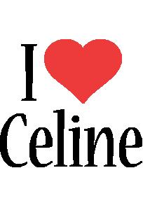 Celine i-love logo