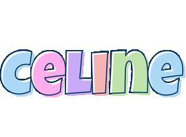 Celine pastel logo