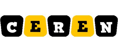 Ceren boots logo
