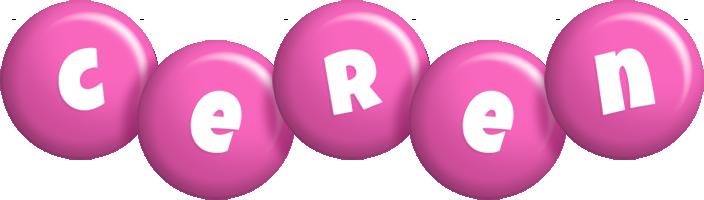 Ceren candy-pink logo