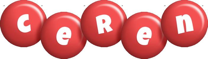 Ceren candy-red logo