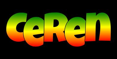 Ceren mango logo
