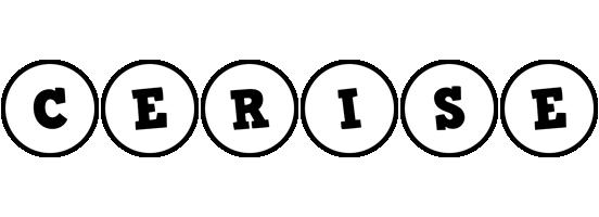 Cerise handy logo