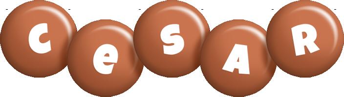 Cesar candy-brown logo