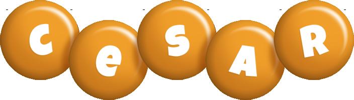 Cesar candy-orange logo