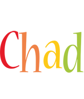 Chad birthday logo