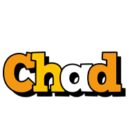 Chad cartoon logo