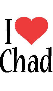 Chad i-love logo