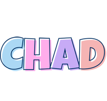 Chad pastel logo