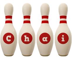 Chai bowling-pin logo