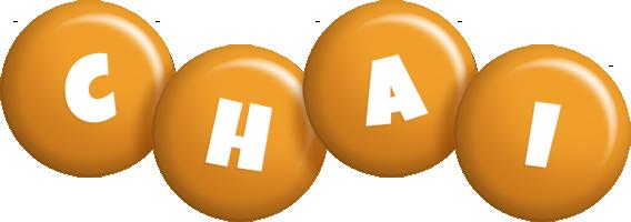Chai candy-orange logo