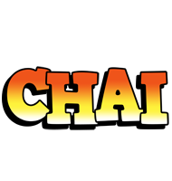 Chai sunset logo