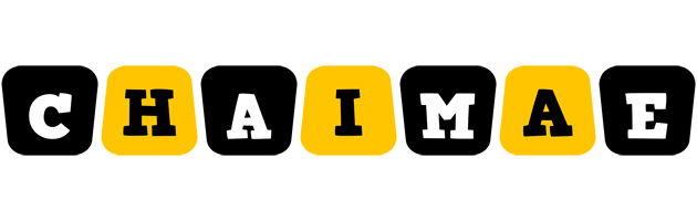 Chaimae boots logo