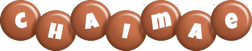 Chaimae candy-brown logo