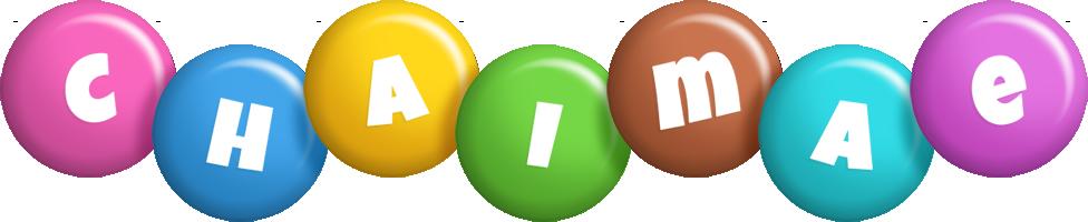 Chaimae candy logo