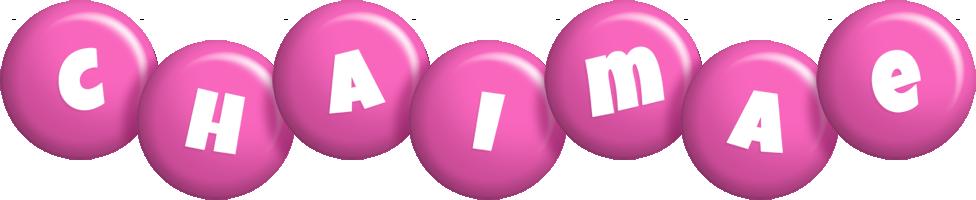 Chaimae candy-pink logo