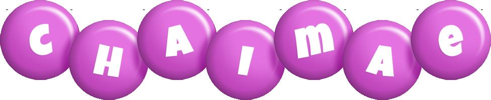 Chaimae candy-purple logo
