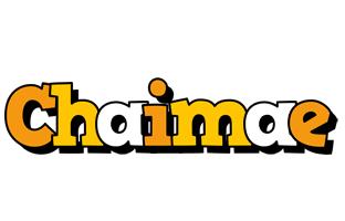 Chaimae cartoon logo