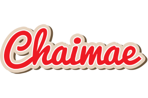 Chaimae chocolate logo