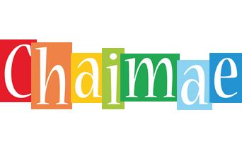 Chaimae colors logo