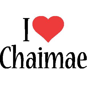 Chaimae i-love logo