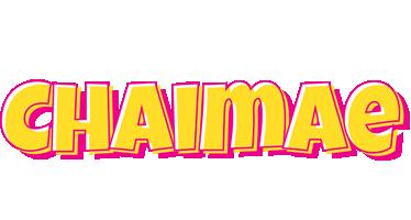 Chaimae kaboom logo