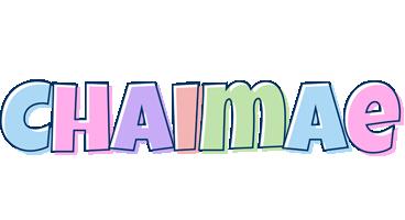 Chaimae pastel logo
