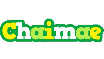 Chaimae soccer logo