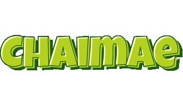 Chaimae summer logo