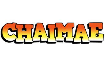 Chaimae sunset logo