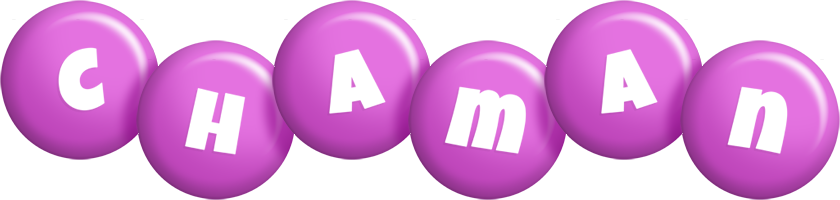 Chaman candy-purple logo