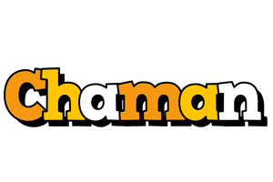 Chaman cartoon logo