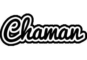 Chaman chess logo