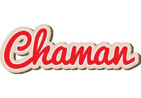 Chaman chocolate logo