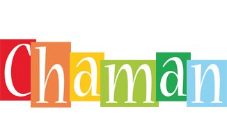 Chaman colors logo