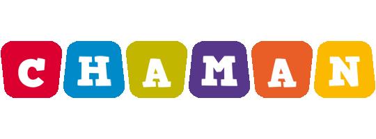 Chaman daycare logo