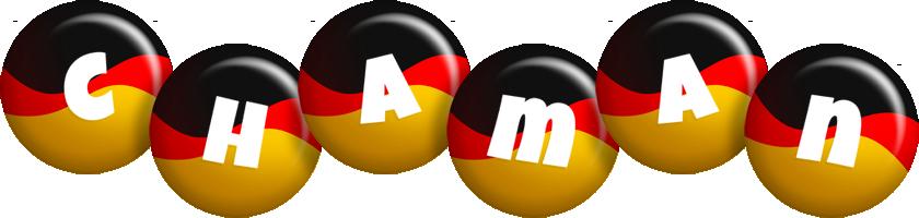 Chaman german logo