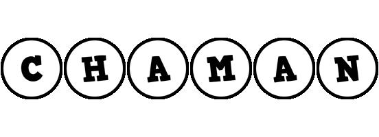 Chaman handy logo
