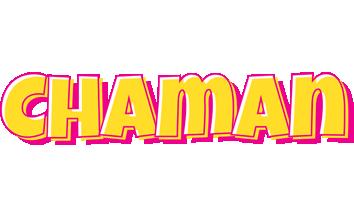 Chaman kaboom logo