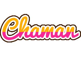Chaman smoothie logo