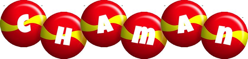 Chaman spain logo