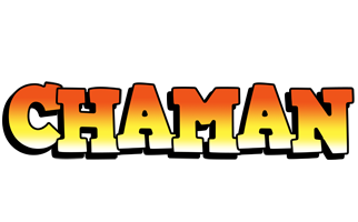 Chaman sunset logo