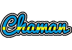 Chaman sweden logo